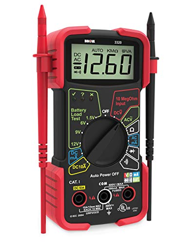 Your mechanic is going to love this Digital Multimeter