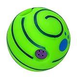 15cm Giggle hundespielzeug Ball, Interaktive Hund Spielzeug, Spaß Kichern Ertönt, Wenn Gerollt oder Geschüttelt, Wobble Ball Hund Spielzeug für Outdoor Indoor Macht