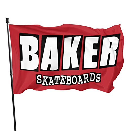 'N/A' Huaiyin Baker Skateboards Bandera...