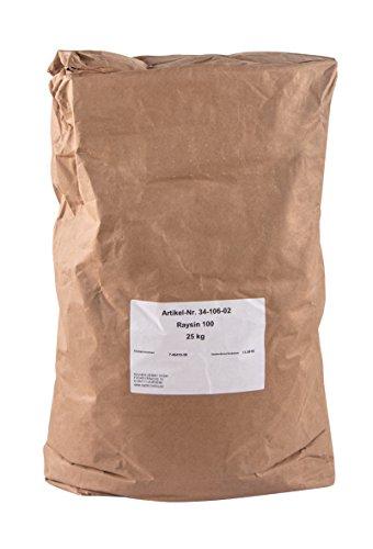 Rayher 3410602 Polvere di Ceramica Raysin 100, Polvere di Gesso 25 Kg da Colare, Asciuga All'Aria, Inodore, per Uso Hobbistico e Progetti Creativi, Bianco
