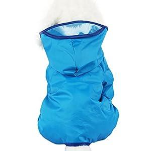 Imperméable à Chien, Legendog Imperméable à La Mode Imperméable à L'eau Pet Raincoat Fournitures Pour Chien