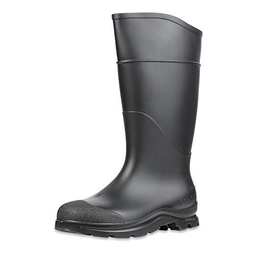 Servus Comfort Technology 14 PVC Soft Toe Mens Work Boots, Size-9, Black
