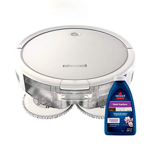 BISSELL SpinWave Wet and Dry Robot Vacuum, WiFi...