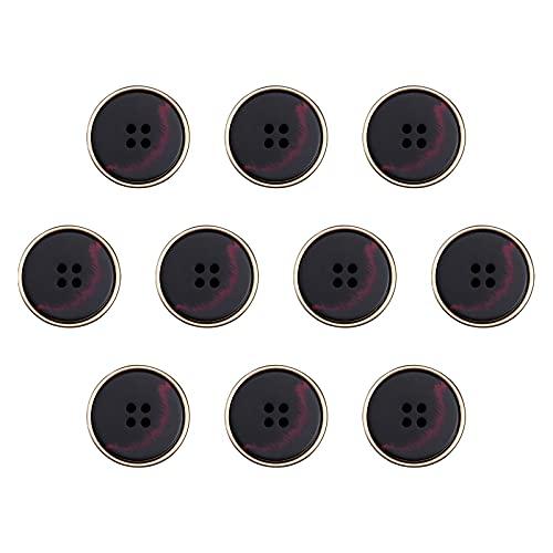 litulituhallo Kit de 10 piezas para costura de color negro, para manualidades, costura y manualidades