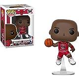 Michael Jordan [Bulls]: Funko POP! Basketball Vinyl Figure & 1 POP! Compatible PET Plastic Graphical Protector Bundle [#054 / 36890 - B]