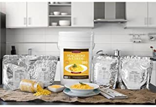 Chef's Banquet Macaroni & Cheese Food Storage (180 Servings)