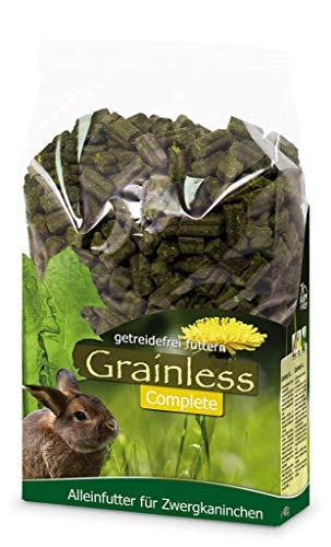 JR Farm Grainless Complete Zwergkaninchen, 1er Pack (1 x 15 kg)