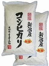 新米 令和1年産 新潟産 白米 コシヒカリ 10kg(5kg×2袋)新潟辰巳屋 (産地直送米)
