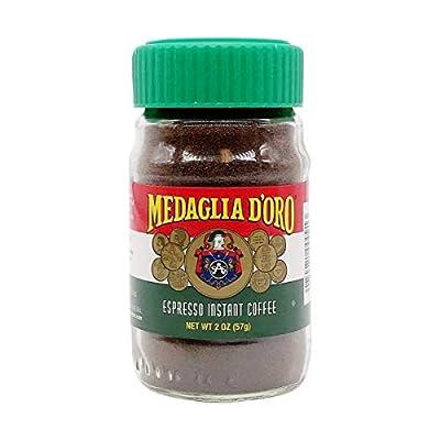 Medaglia D'Oro Instant Espresso Coffee, 2 Ounces