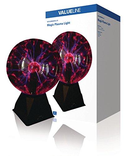 Valueline VLPLASMABALL10 - Bola de luz de Plasma