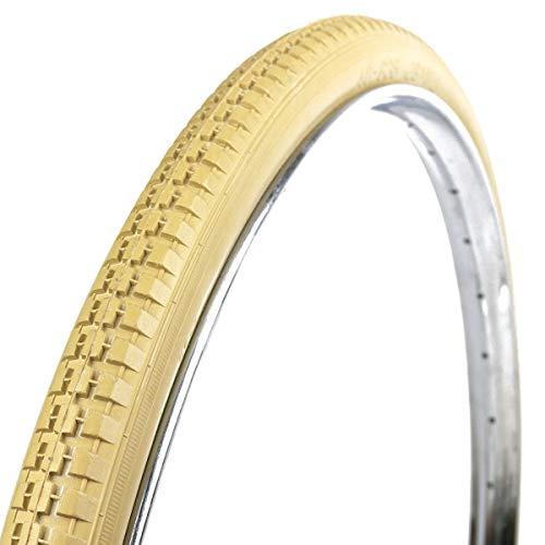 """OldNewBikes Juego de Cubiertas de Color Beige (2 Unidades) Marca RALSON para Bicicleta clásica, Medidas 28x1,1/2"""" (40-635), 700B"""