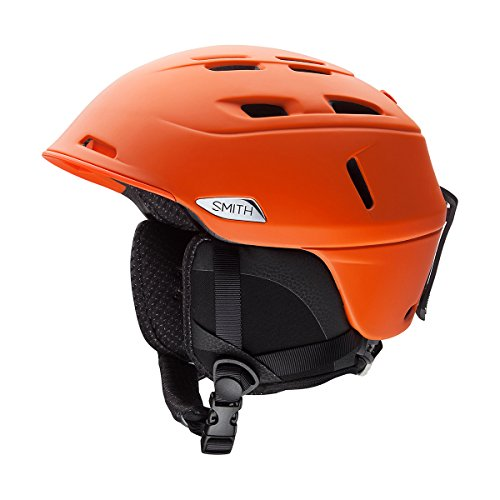 Smith Erwachsene Skihelm Camber, Matte Orange, 51-55 cm
