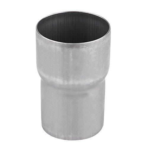 Adaptador de escape de la motocicleta, 51 mm a 60 mm Adaptador de silenciador del adaptador de tubo de escape de acero inoxidable de la motocicleta