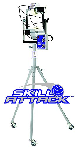 Skill Attack Volleyball Machine, an Individual Training Tool for Serve Receive, Defensive and Attacking Drills
