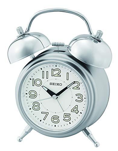 Seiko Alarm Clock, Silver, S