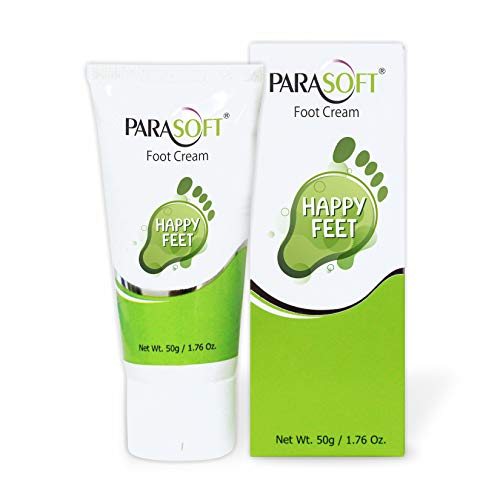 Salve Parasoft Happy Feet Foot cream for Cracked heels and Athlete's foot 50gm