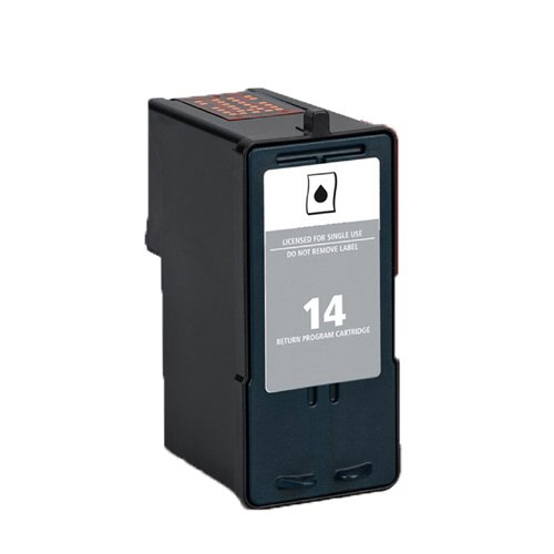Cartucho Tinta Compatible para Lexmark Nº 14 / 18C2090E Negro 21ml T119