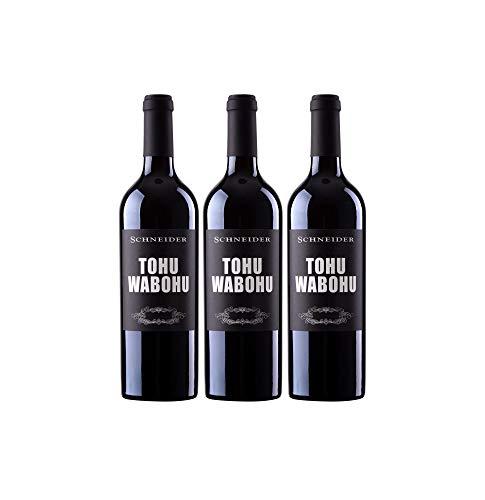 Markus Schneider Tohuwabohu Rotwein Cuvee deutscher Wein trocken Pfalz (3 Flaschen)