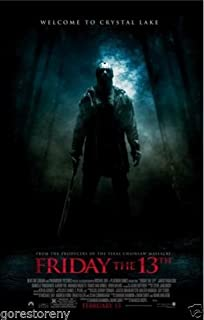 Movie Poster Friday the 13th (1980) 24x36