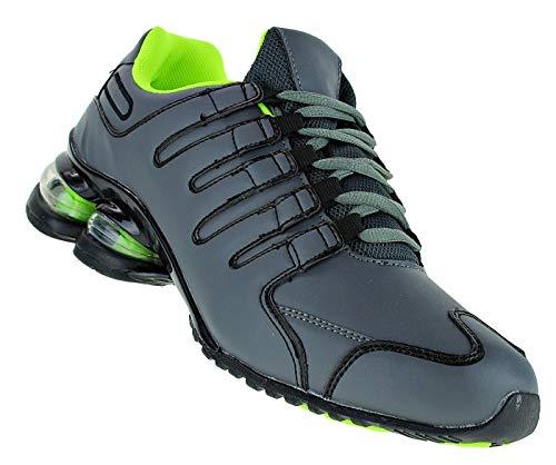 Bootsland 245 Neon Turnschuhe Federsohle Sneaker Sportschuhe Herren, Schuhgröße:42