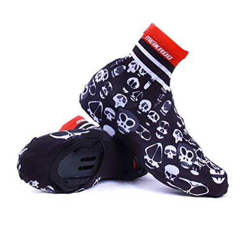 YODZ Cubiertas De Zapatos De Ciclismo, MTB Al Aire Libre Cubiertas De Zapatos De Bicicleta De Carretera Overshoes Calentador A Prueba De Viento Unisex Adulto, para Ciclismo De Larga Distancia,M