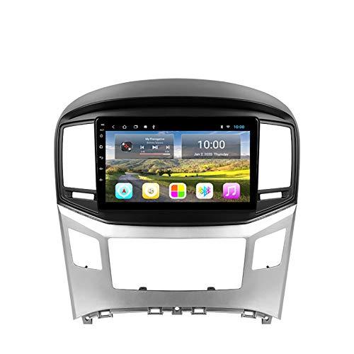 YLCCC Coche Estéreo Sat Nav Adecuado para Hyundai H1 2015-2018 Coche Estéreo Vehículo GPS Touch Capacitivo HD Carplay WiFi Sistema de Radio Incorporado,8Core 4G+WiFi:4+64G