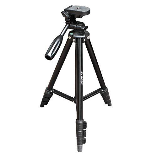 Svbony SV101 Trípode Camara 55in/138cm Compacto Portatil tripode Aluminio Viaje Triopde Telescopio Terrestre con Bolsa Tripode para Camera Telescopio Compatible con SV28 / SV13/ SV18 / SV29 / SV14
