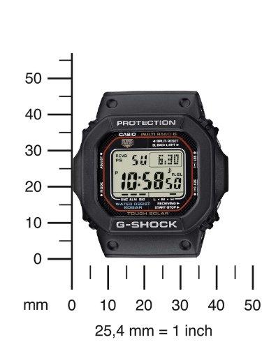 Casio GW-M5610-1ER G-SHOCK Men's Digital Quartz Watch with Rubber Strap