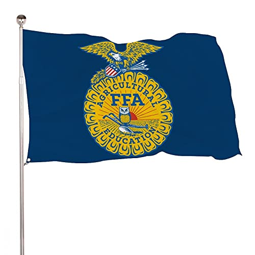 ZJLVMF FFA Classic Flag 3x5 Foot American Flag Garden Flag for Party Decorations,Parades,Election Day Celebration Event