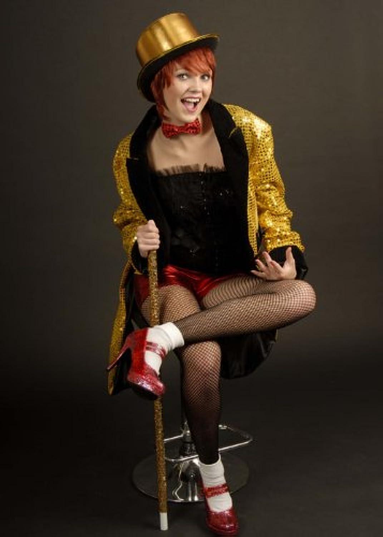 Magic Box Int. damen Columbia Rocky Horror Bild Show Style Kostüm Large (EU42 UK14)