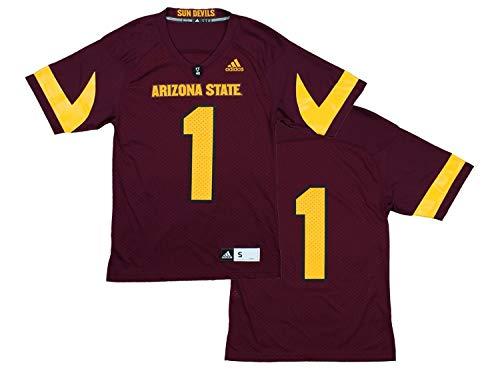 NCAA Men's Premiere Football Jersey, Various Teams (Arizona State Sun Devils, L)