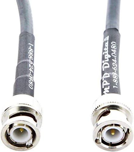 Ranking TOP5 2021 model MPD Digital U.S.A. Made RG8X - RF Mini-8-50 Ohm Coaxial w Cable