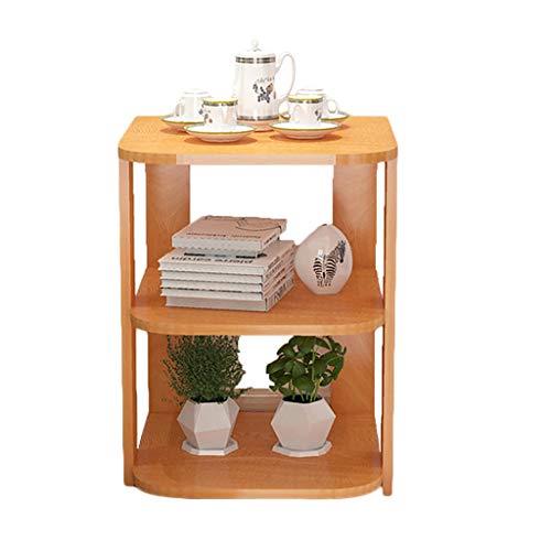 Votre choix Côté Angle Quelques Canapé Petite Table Basse Meuble Latéral Meuble Coin Table de Chevet Petite Table à Thé (Couleur : C)