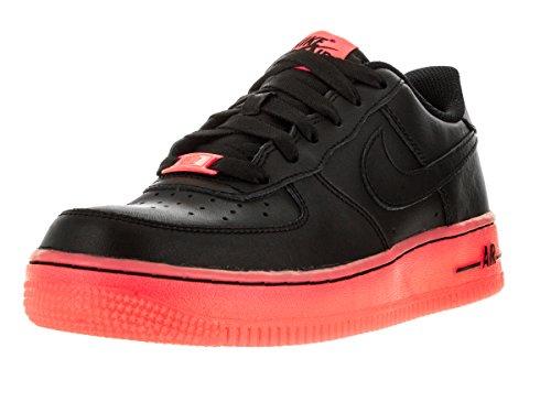 Nike Nike Schuhe - Air Force 1 Premium (GS) Schwarz/Rot Hot Lava 39