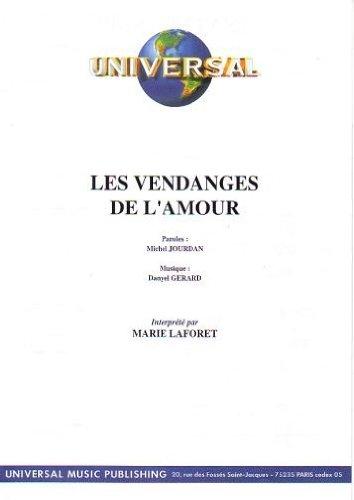 LES VENDANGES DE L\'AMOUR