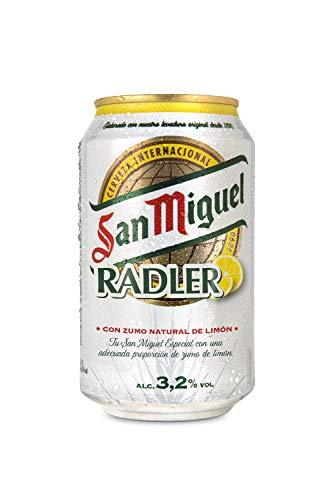 San Miguel - Radler Cerveza, Lata 330 ml