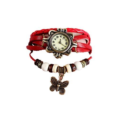 cosanter Reloj Retro Vintage Mujer Reloj De Pulsera Brazalete Reloj Colgante Cuarzo Relojes con...