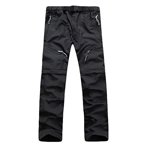 VPASS Pantalones Hombre,Pantalones de Trekking Deportes al Aire Libre Trabajo Pantalones Jogging...