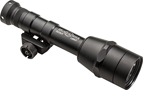 SureFire M600IB Scout Light with IntelliBeam Technology, Includes Z68 click-type tailcap pushbutton switch
