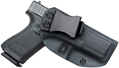 IWB KYDEX Holster Fit: Glock 19 19X 23 32 (Gen 1-5) - Inside Waistband Concealed Carry Holster - Adjustable Cant & Retention- Right Hand