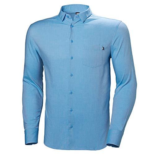 Helly Hansen CRECLUB LS Shirt Homme, 509 Cornflower, L