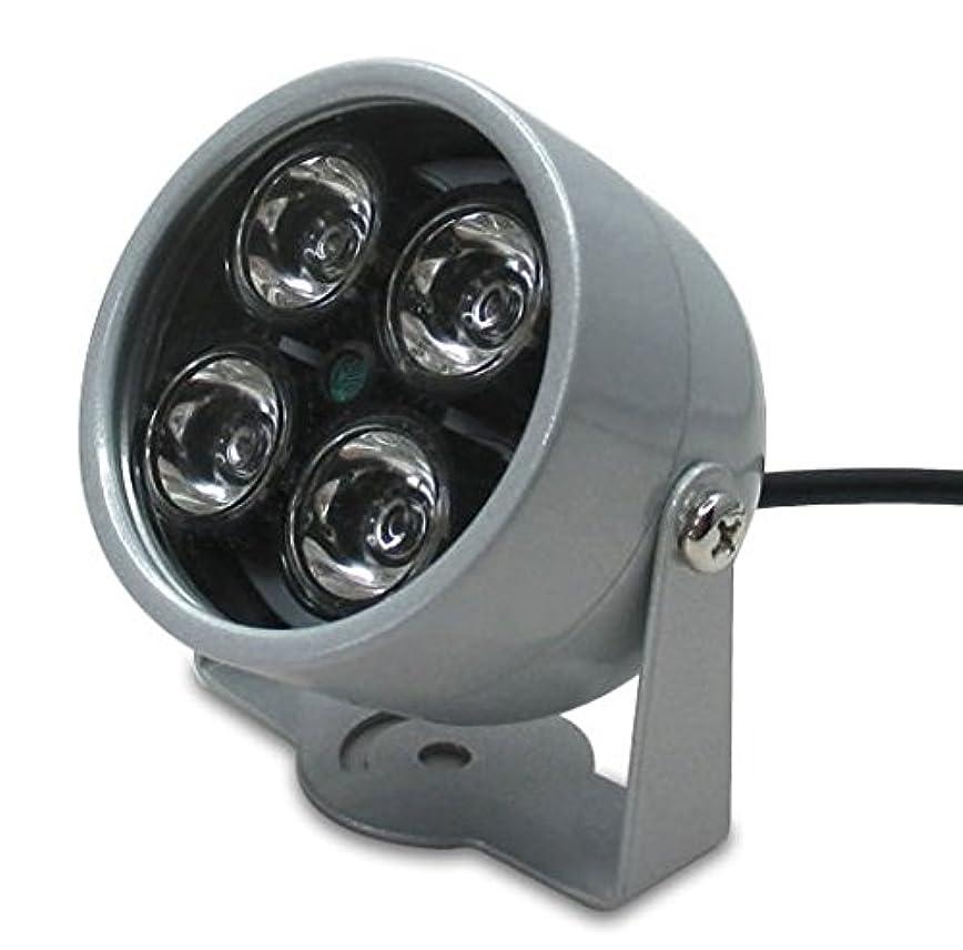マート宣伝特殊Broadwatch 光量センサー自動点灯 赤外線照明 LED強力 SEC-IRLED-2B