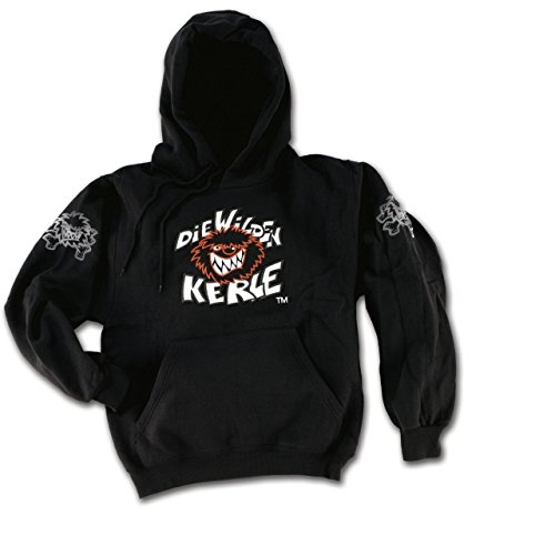 Die Wilden Kerle Kinder Sweat-Shirt Logo, schwarz, 116, 3500-009