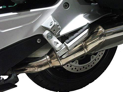 Rialzo poggiapiedi Sozius regolabile 60 mm profondità TÜV per BMW K100RS