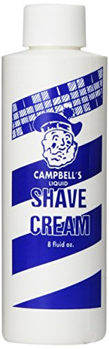 Campbell's Soap Concentrate liquid Shave Cream, 8 Ounce