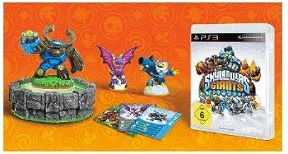 Skylanders: Giants Starter Pack (PS3) 3 Figuren + Portal + Spiel (OEM) (Gnarly Tree Rex, Cynder, Jet-Vac): Amazon.es: Videojuegos