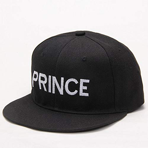 KUANGLANG Prince Princess Embroidery Men Women Snapback Hat Couple Baseball Cap Gifts for Friendfashion Hip-Hop Caps