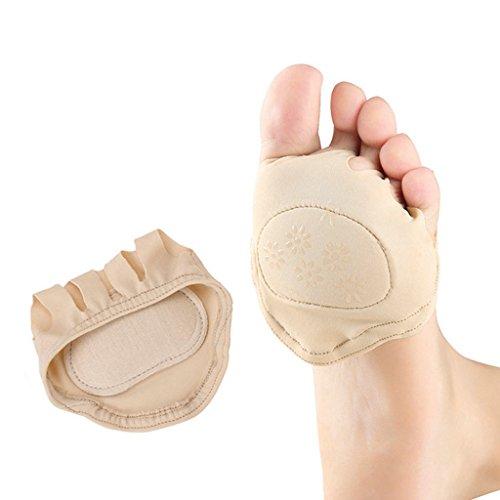 1 Paar Vorderfuß Mittelfußschmerzlinderung Kissen Ball Von Fuß-Pads Nackt