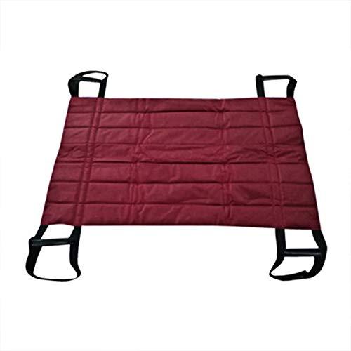 Z-SEAT Positionierungsblock Blatt Patiententransferbrett Hebeblatt Rutsche Schützende Krankenhausbettmatte mit 4 Griffen, Transferbretter Riemenrutsche Patient Medical Lift