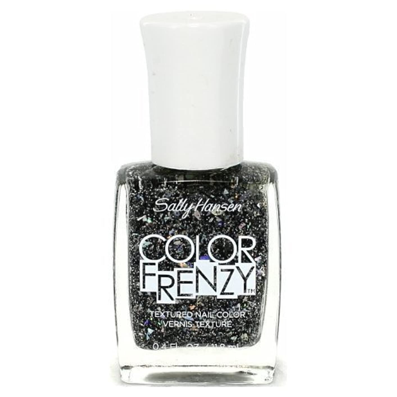 現象練る共同選択SALLY HANSEN Color Frenzy Textured Nail Color - Spark & Pepper (並行輸入品)